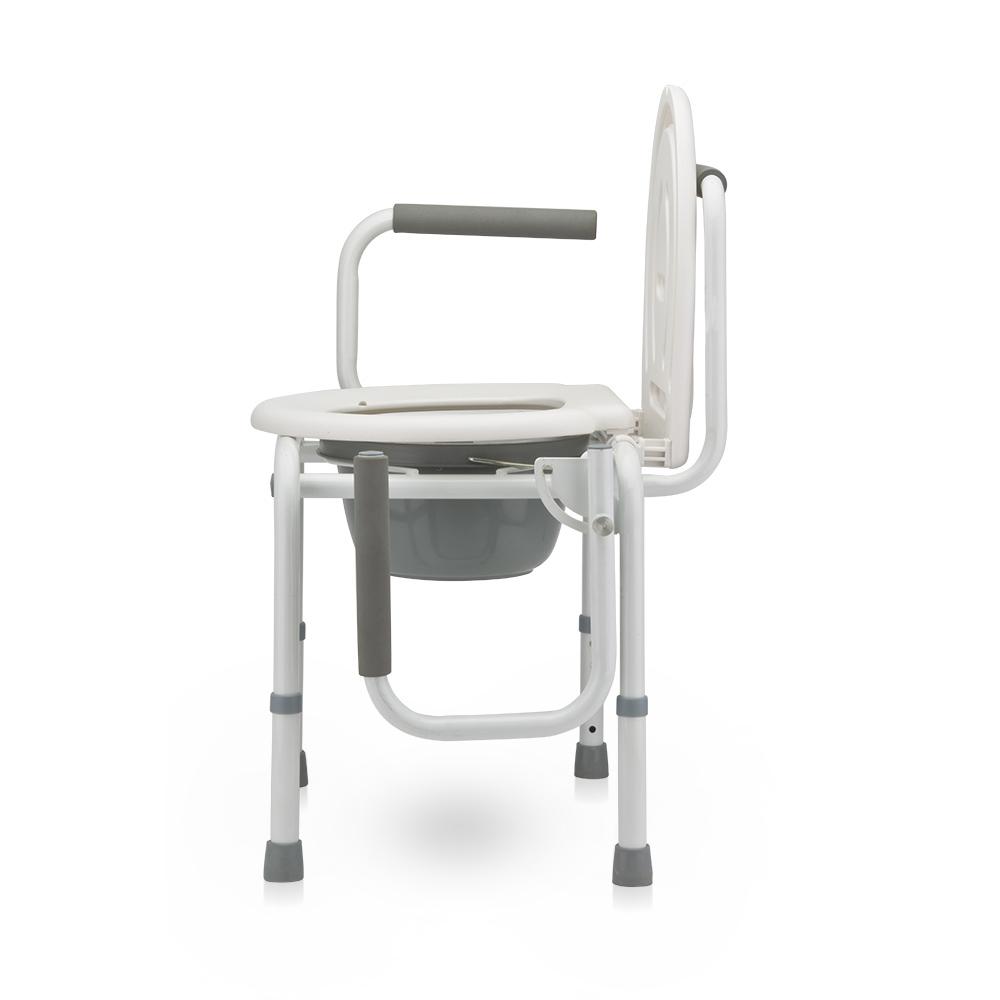 Кресло-туалет с откидными подлокотниками